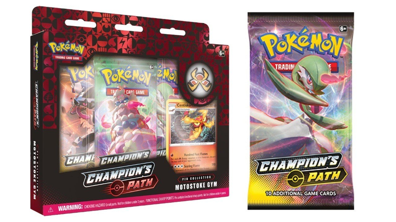 The Latest Pokemon Trading Card Set Includes Real Life Sword And Shield Gym Badges Nintendo Life