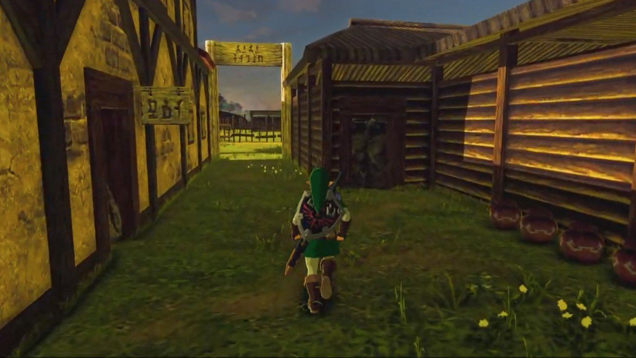 Video: See Ocarina Of Time's Lon Lon Ranch Inside Zelda: Breath Of The Wild