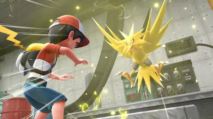 Pokemon Let's Go Zapdos