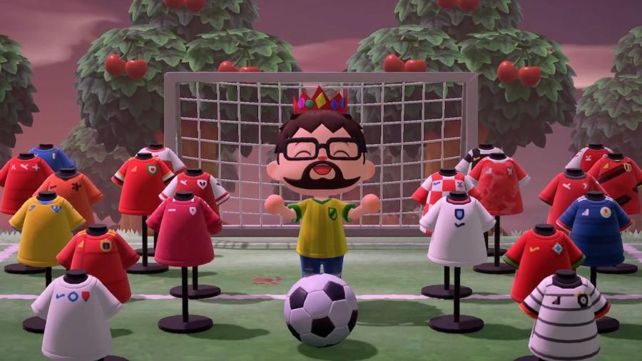 Animal Crossing Football Kits