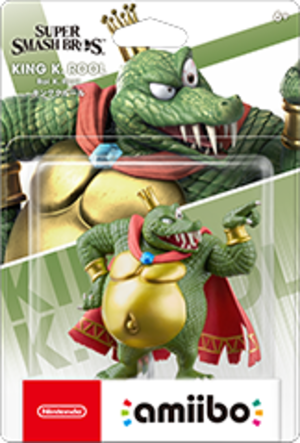 King K. Rool amiibo Pack