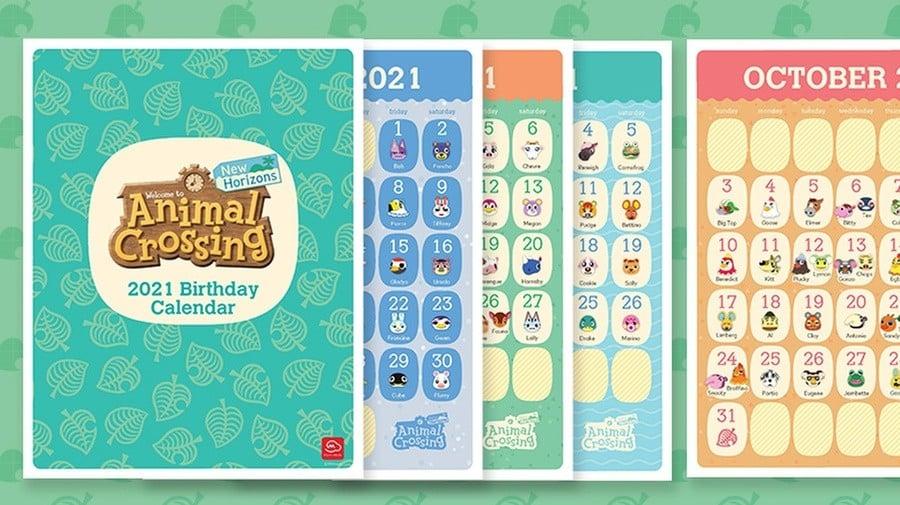 Animal Crossing Calendar