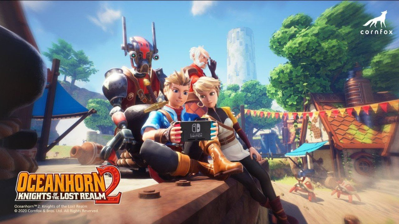 Apple Arcade's Zelda-Style Exclusive Oceanhorn 2 Is Jumping Ship To Switch This Fall - Nintendo Life