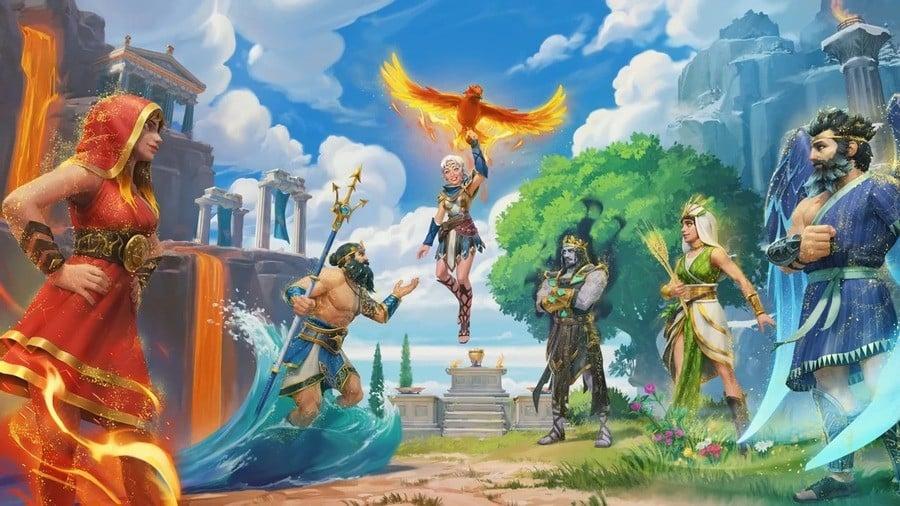 Immortals The Lost Gods