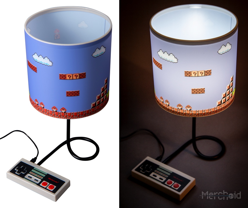 Nintendo WorldNES Lamp 3