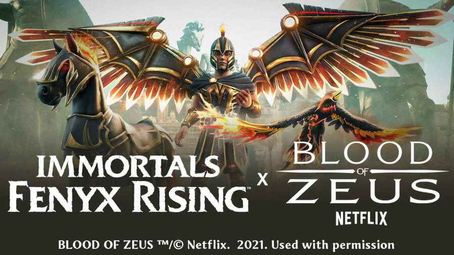 Character Pack for Immortals x Blood of Zeus