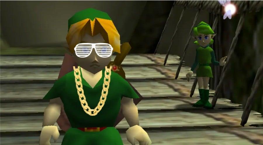 Link West? Kanye Link? The Hero of Rap?