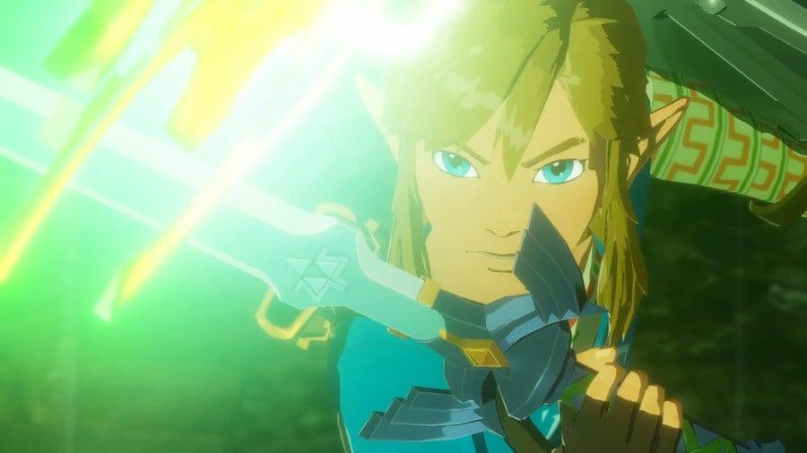 Link Hyrule Warriors Switch