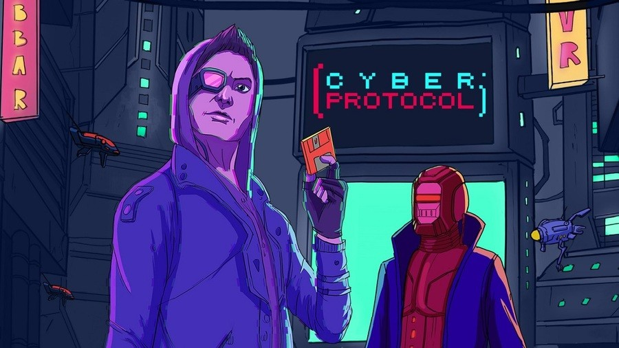 You can pick up Cyber Protocol for just nine cents!