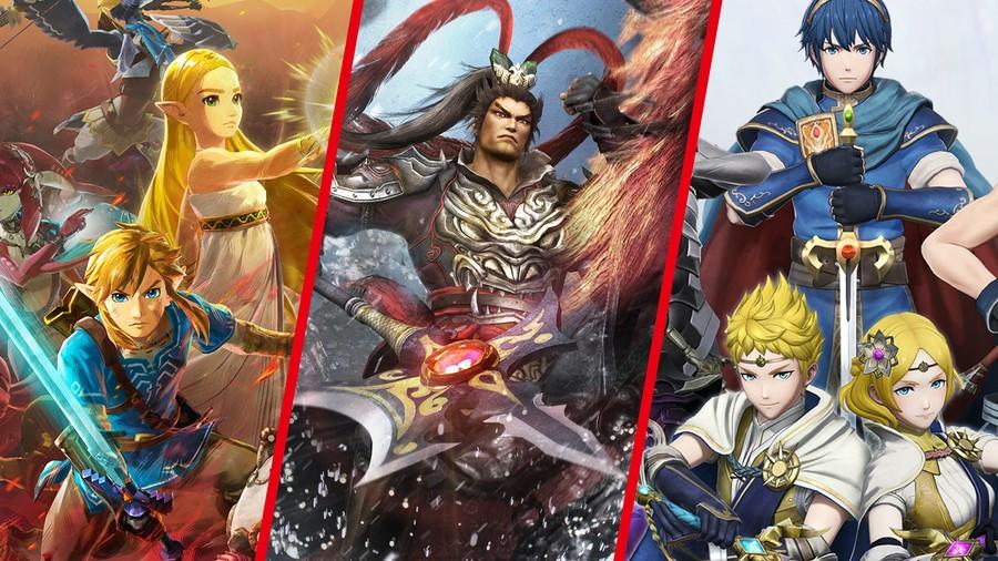 Dynasty Warriors Nintendo Crossovers