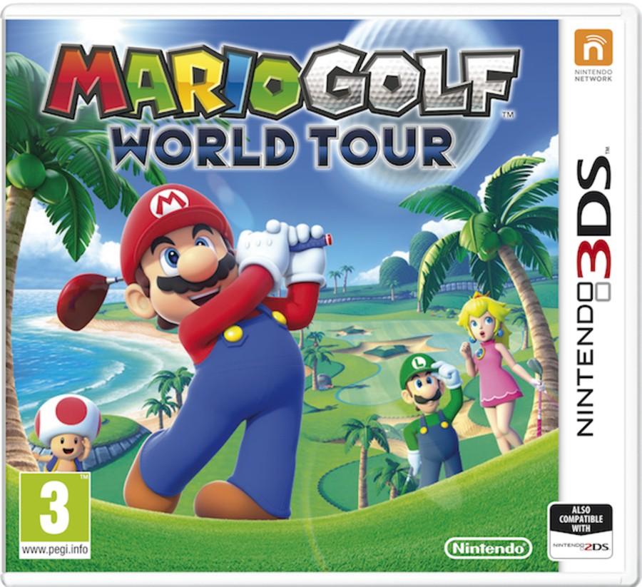Mario Golf Worl Tour Box Art