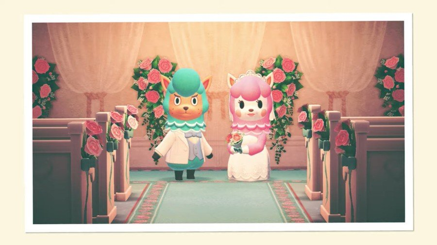 Animal Crossing New Horizons Wedding