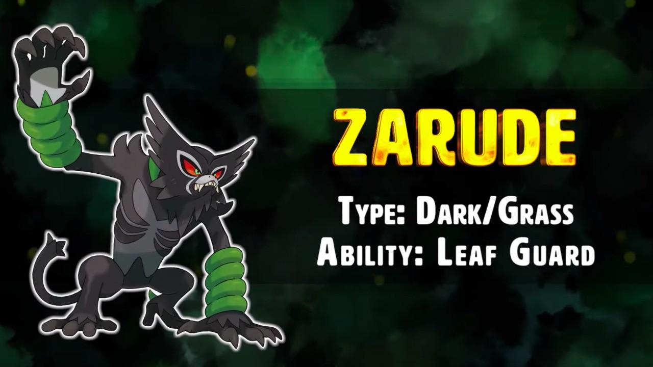 El Zarude tipo mono es el nuevo Pokémon mítico en Sword and Shield 46
