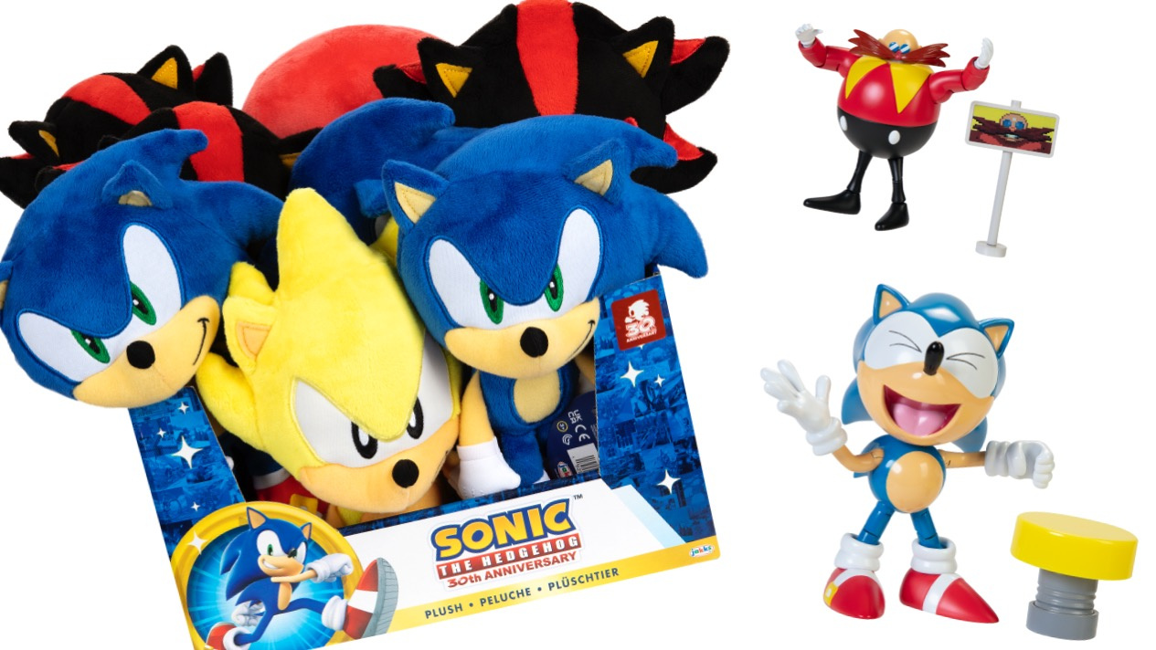 Sega Extends Jakks Pacific Partnership For More Classic And Modern Sonic Merch