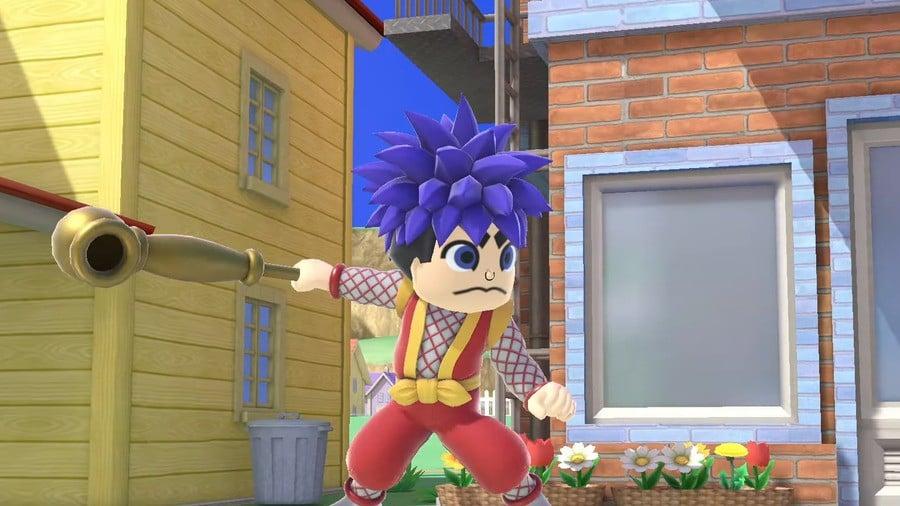 Goemon's Mii Fighter costume in Super Smash Bros. Ultimate