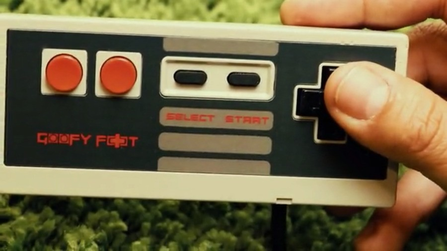 Goofy Foot Nes Controller Mod