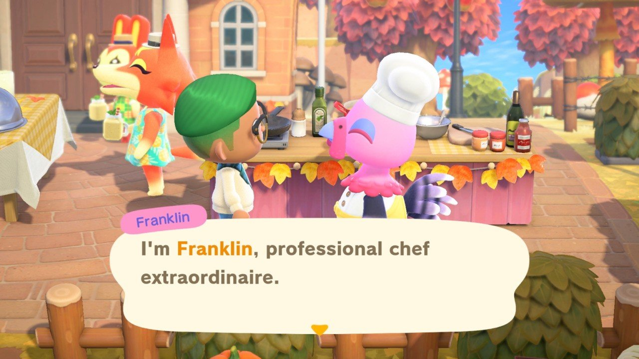 Animal Crossing: New Horizons: Turkey Day Event Guide - Franklin Ingredients, Thanksgiving Recipes And Rewards