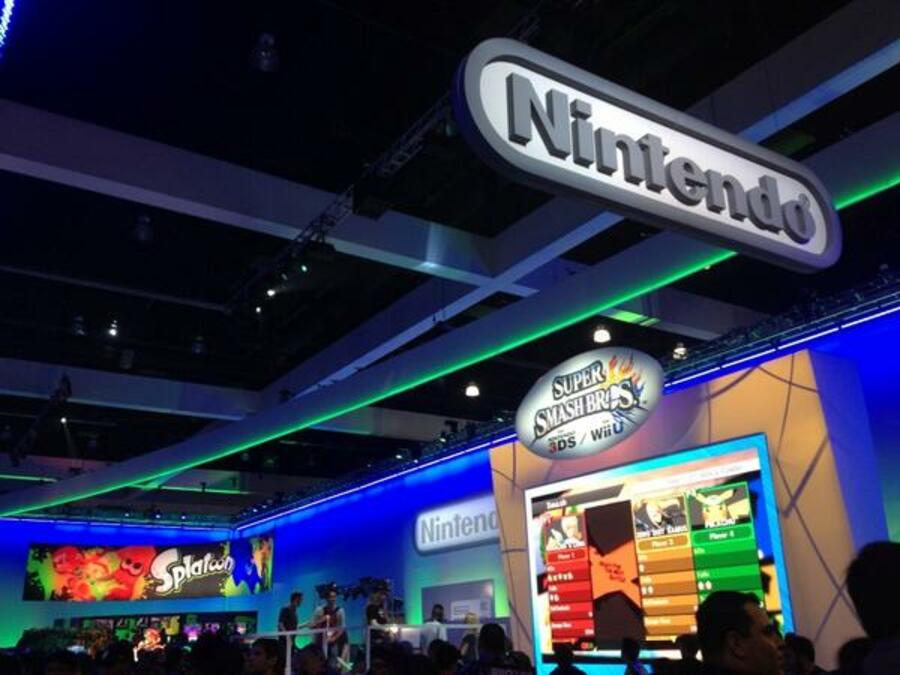 Nintendo Booth Day One