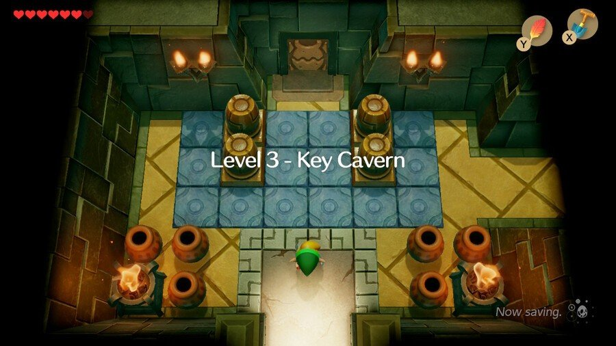 Key Cavern starting room