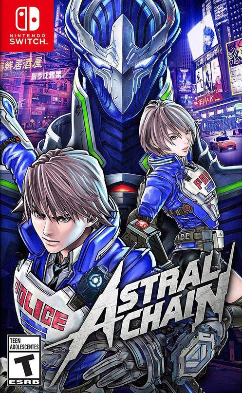 Astral Chain Review Switch Nintendo Life