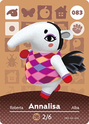 Annalisa amiibo card