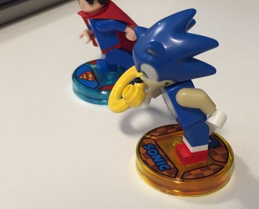 This Is What Sonic The Hedgehog Looks Like In Lego Dimensions Nintendo Life
