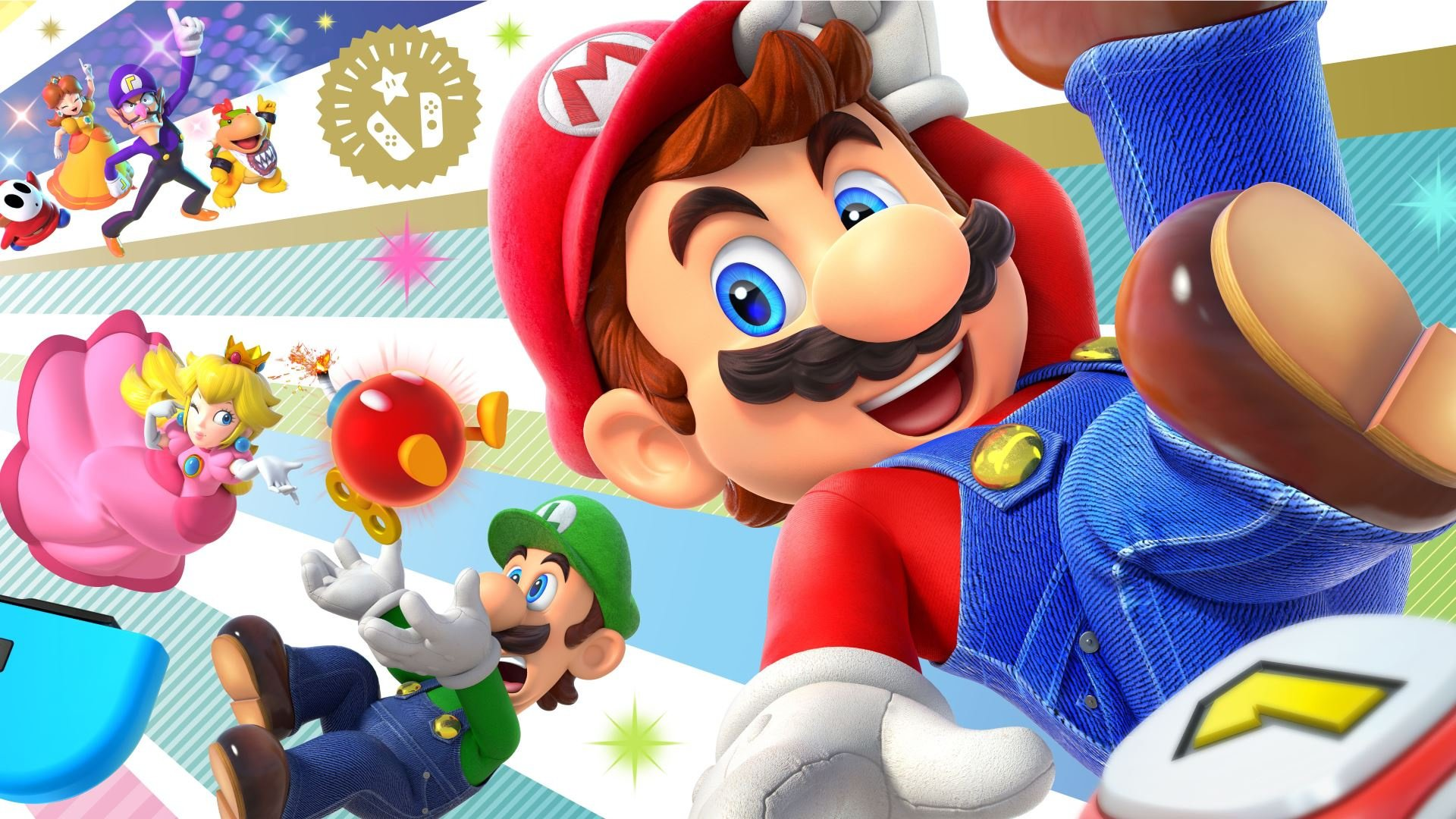 Celebrate Super Mario Partys Release With This Free My Nintendo