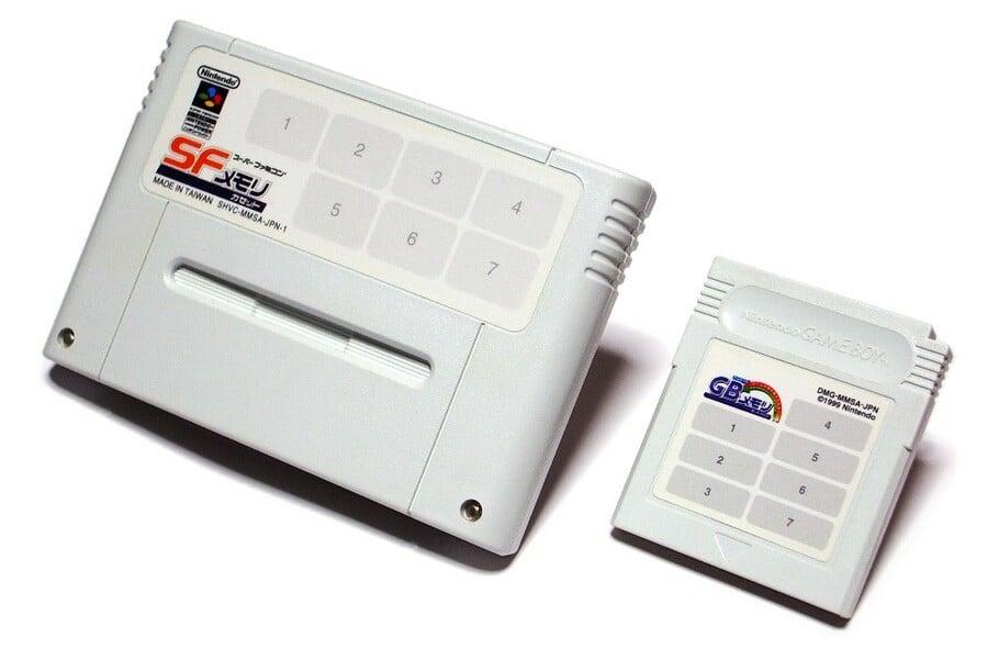 SF Memory Cassette And GB Memory Cartridge