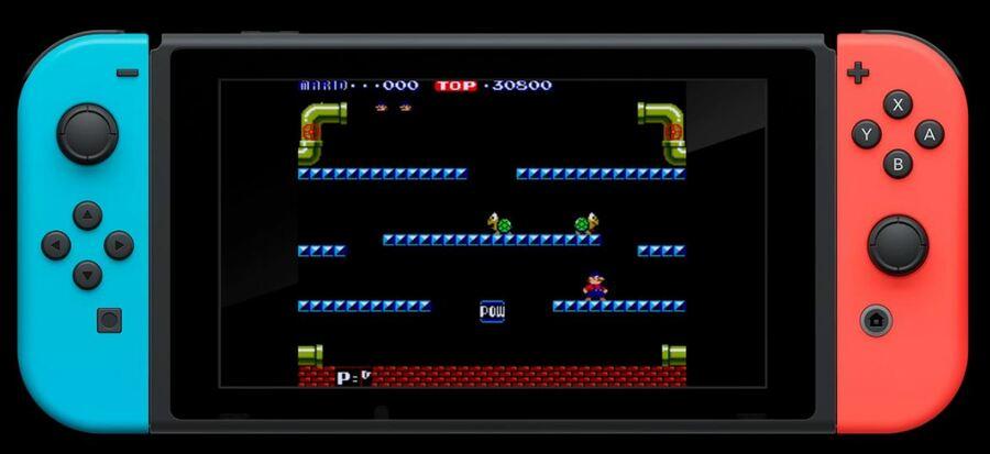 Mario Bros Arcade Archives.JPG