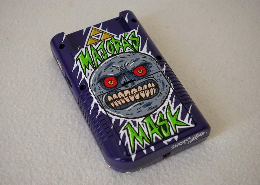 Majora's Mask Game Boy