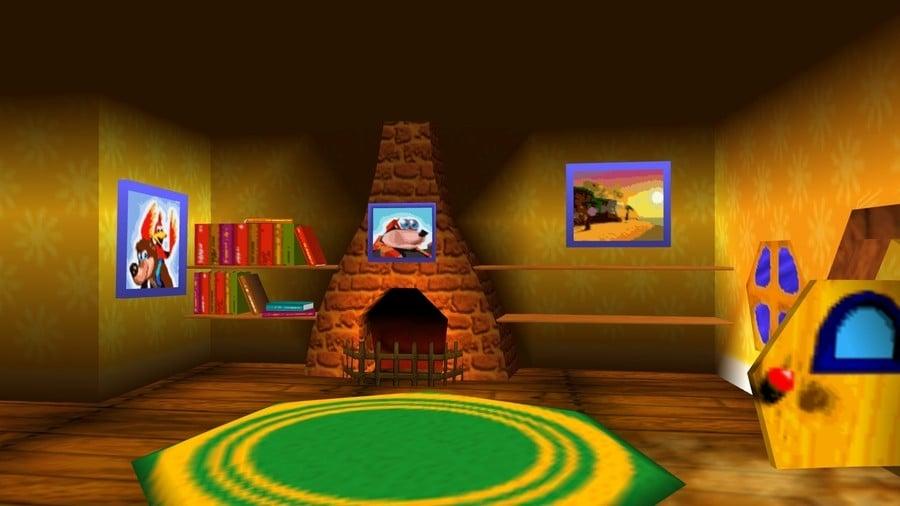 Banjo's house from Banjo-Kazooie