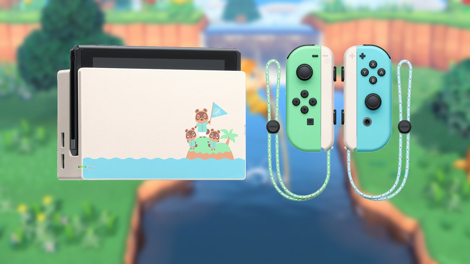 Animal Crossing New Horizons Joy Con And Switch Dock To Be Sold