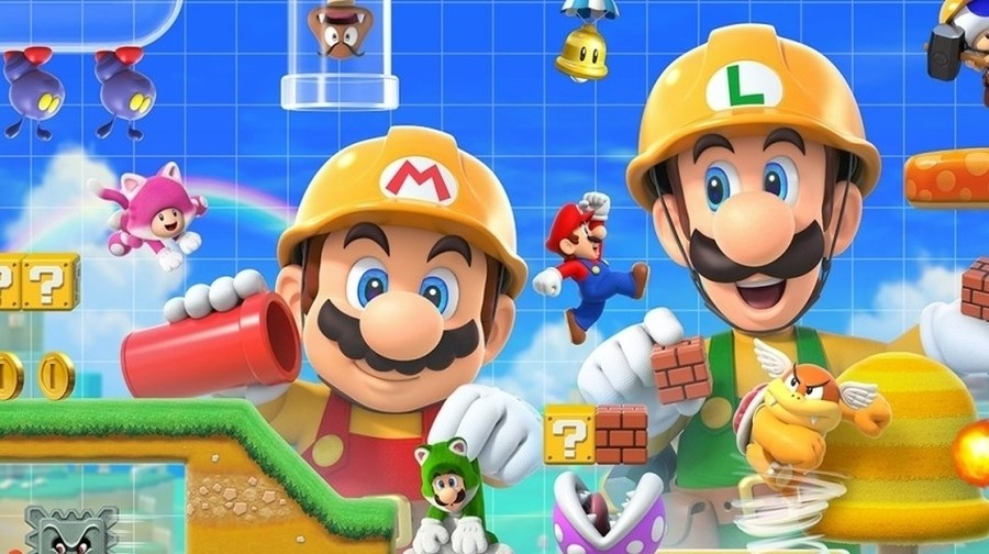 535e387420b80d Super Mario Maker 2 launches exclusively on Nintendo Switch on 28th June,  letting us dive into the crazy world of Mario level creation once more.
