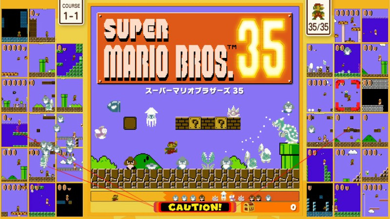 Super Mario Bros. 35 Brings More Battle Royale Madness To Nintendo Switch Online