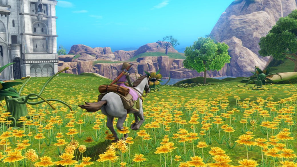 Video Explore Dragon Quest Xi S With The Series Creator And