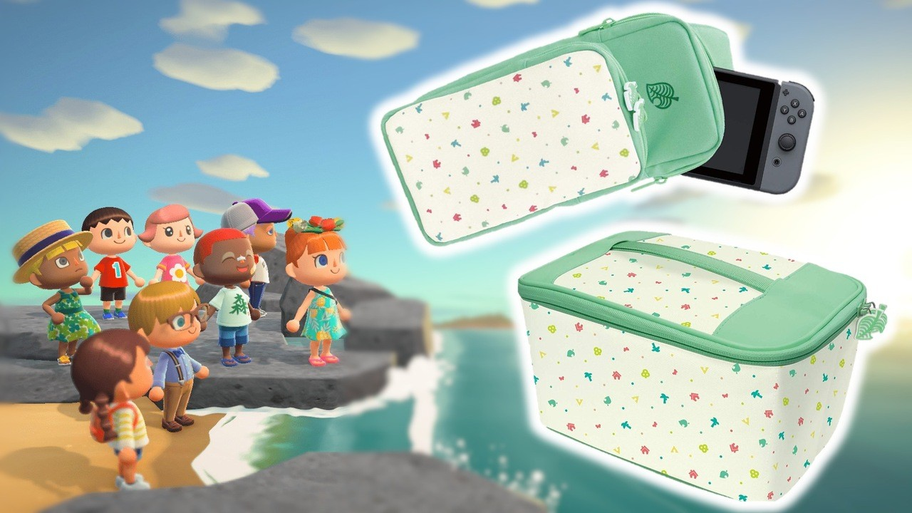 animal crossing switch lite case hori