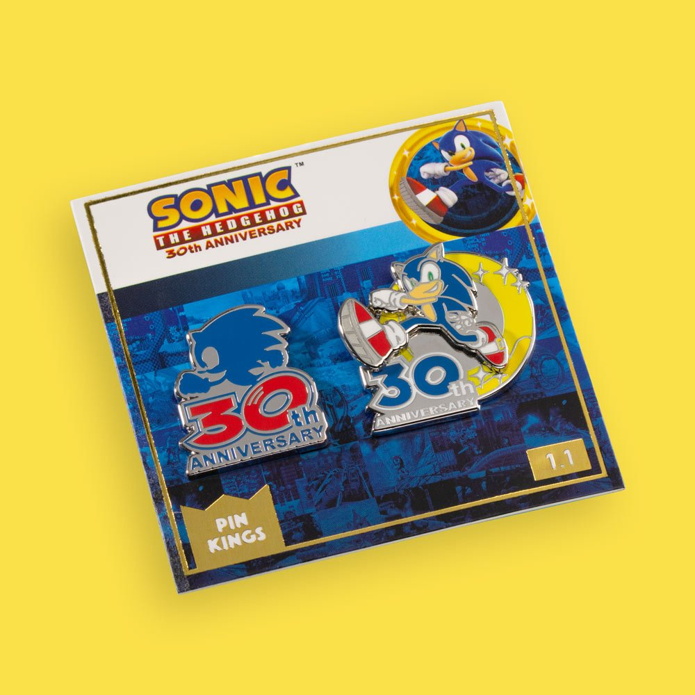 Sonic 30th Anv Pin Kings 1