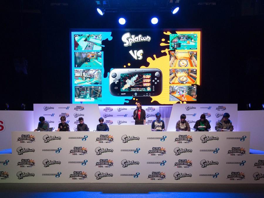 Nintendo had a notable presence at Paris Games Week in 2015