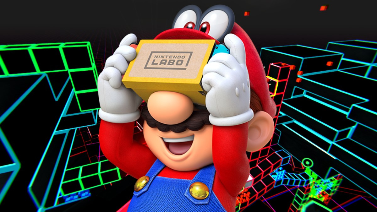 Neonwall Becomes The Second Third-Party Switch Game To Support Labo VR