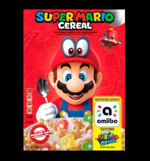 Super Mario Cereal amiibo