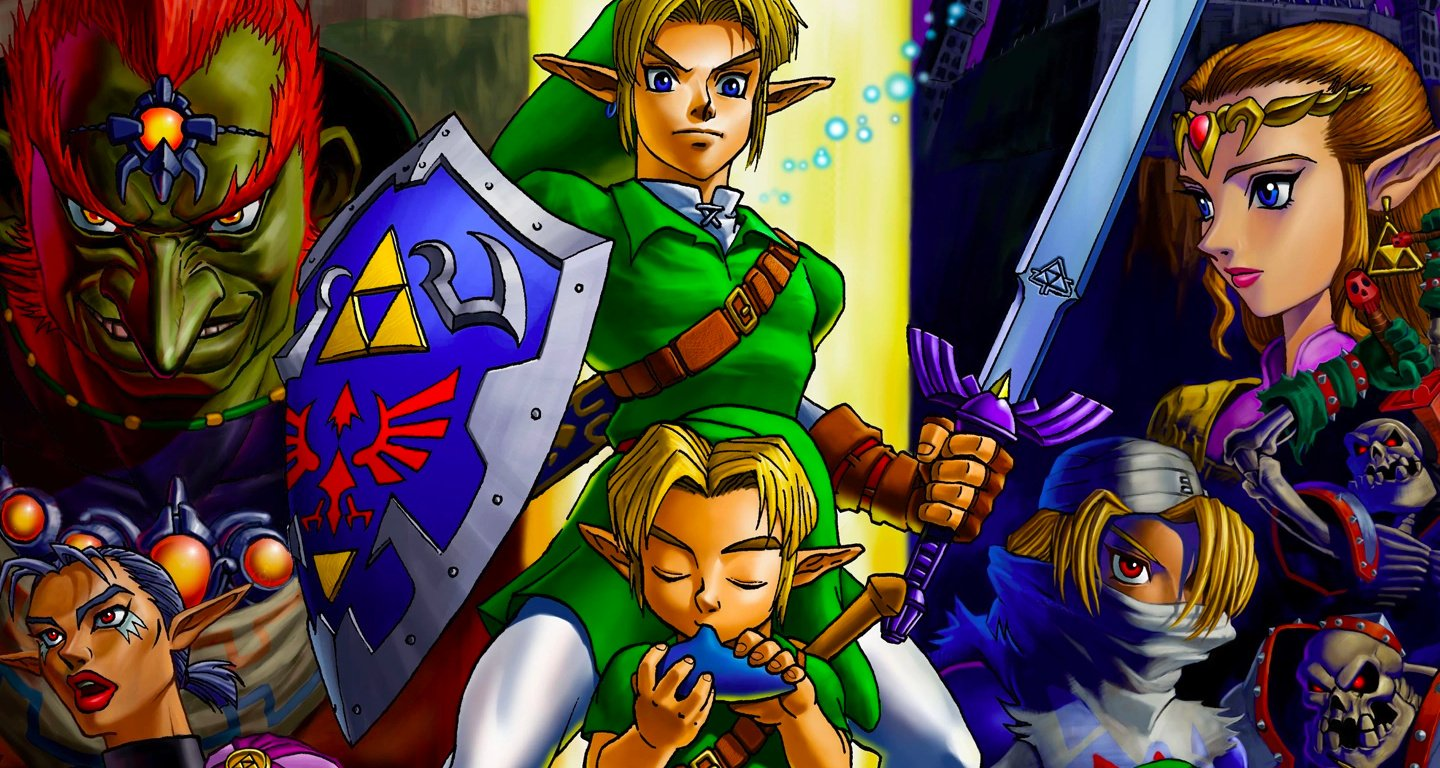 A 20th Anniversary Zelda Adventure - Playing Ocarina Of Time