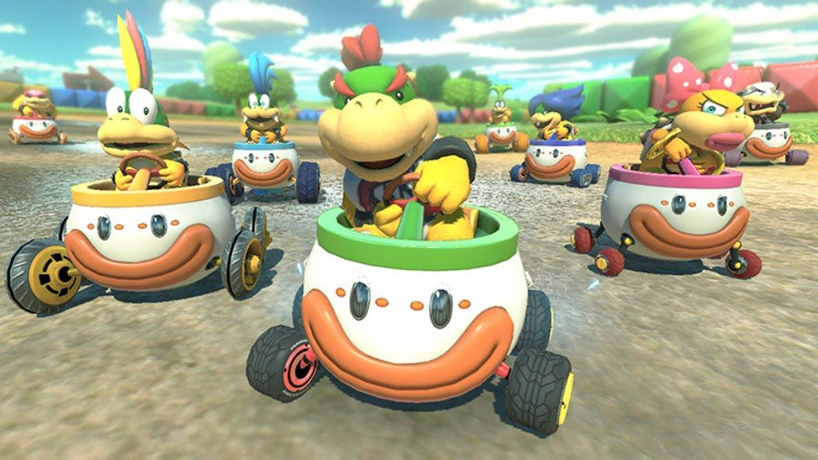 The Beta For Mario Kart Tour Doesn T Seem To Include Proper