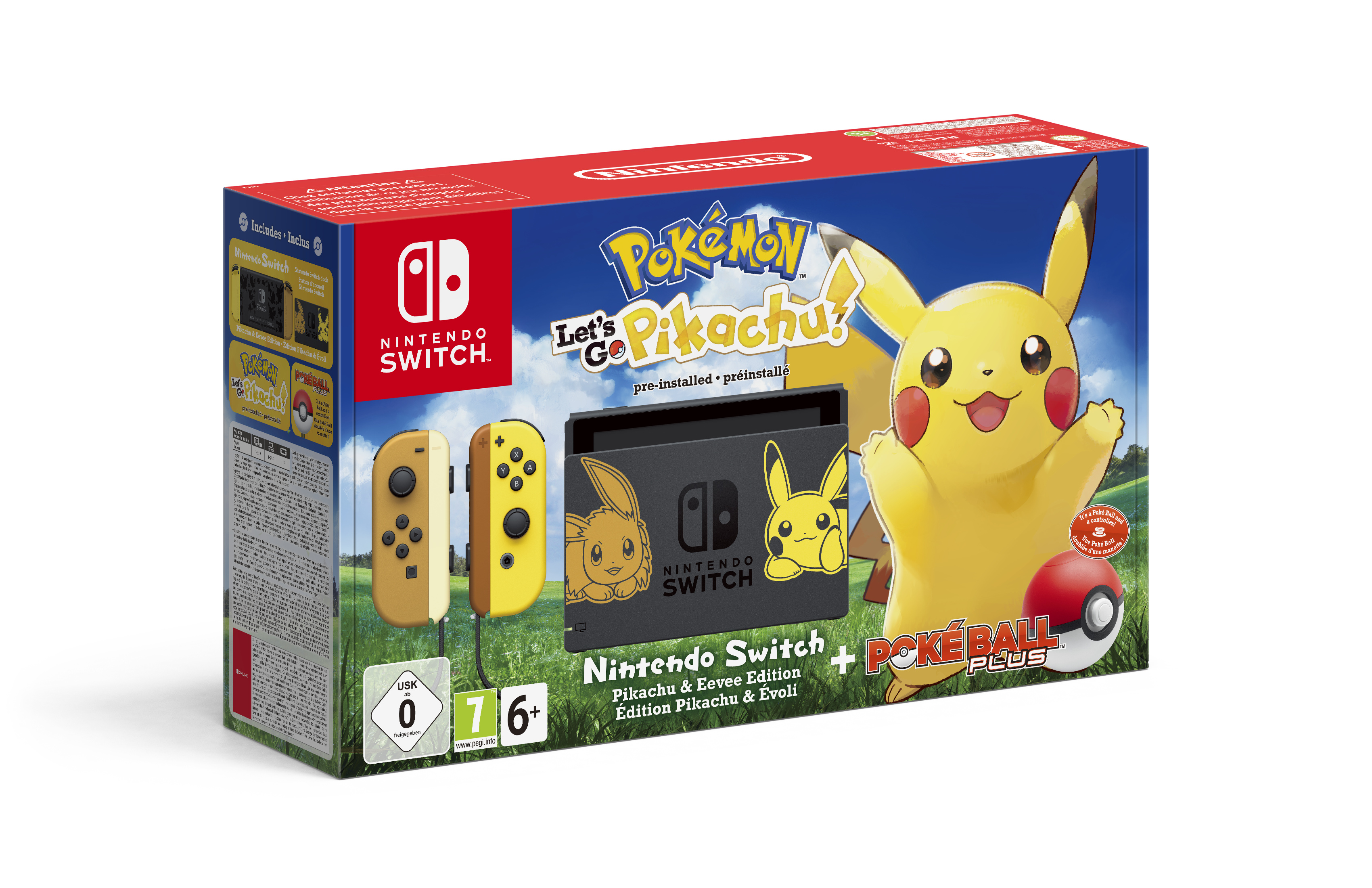 Nintendo Switch 'Pikachu and Eevee Edition' announced