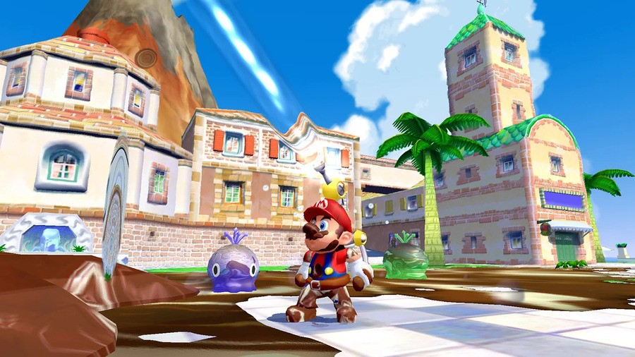 Super Mario Sunshine - Super Mario 3D All-Stars