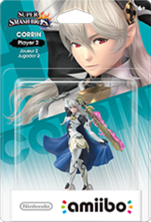 Corrin - Player 2 amiibo Pack
