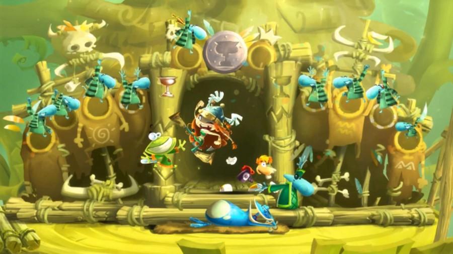 Rayman Legends Toad Screen