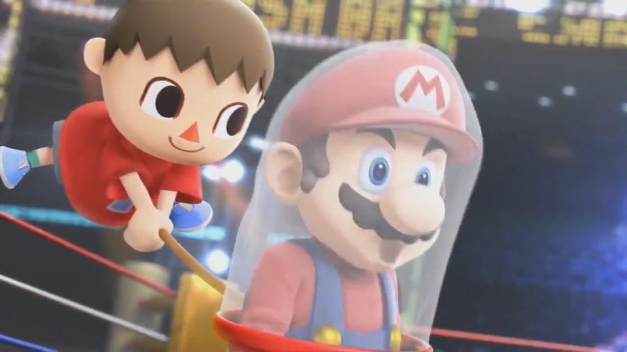 Animal Crossing Mario