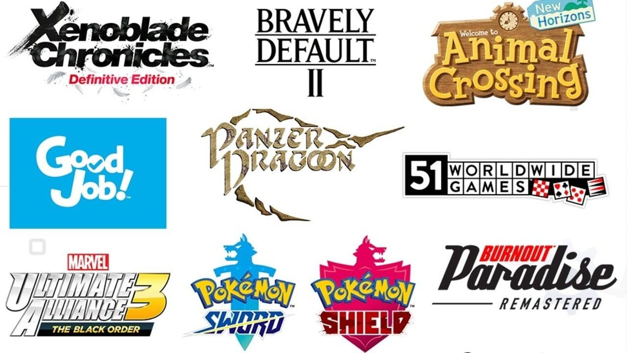 Nintendo comparte un nuevo y colorido gráfico de los juegos exhibidos en el Mini Direct de esta semana 21