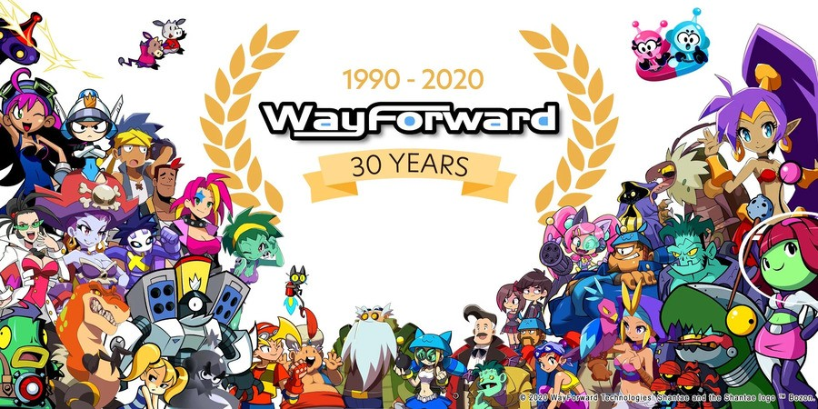 WayForward 30th Anniversary
