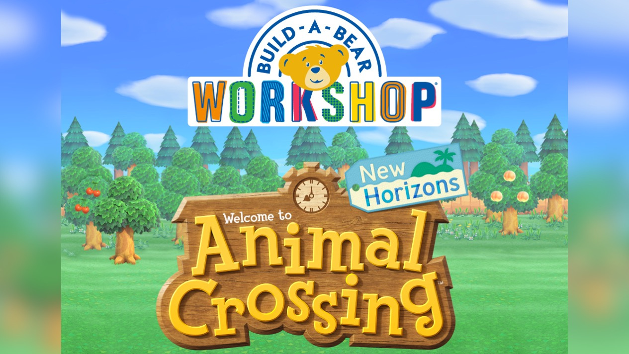 Animal Crossing's Build-A-Bear Collection Launches Today - Here Are The Details You Need